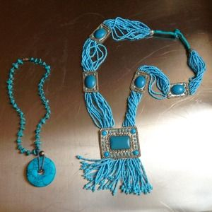 Tribal inspired necklaces