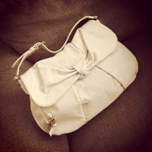 Marc By Marc Jacobs Bow Wow Au Lait Leather Bag