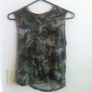 Tops - Horse camp muscle tee