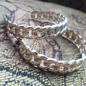 Accessories - Chain hoop earrings