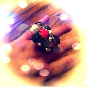 MAKE AN OFFER! Betsey Johnson bling ring