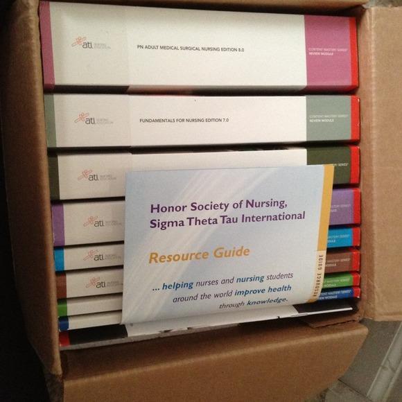 ATI Nursing Books