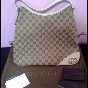 Not Available AUTHENTIC GUCCI MEDIUM HOBO BAG
