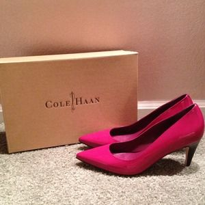 Cole Haan Patent Leather Pumps *NEW*