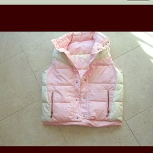 Viva la Juicy with this XL feathered down vest!
