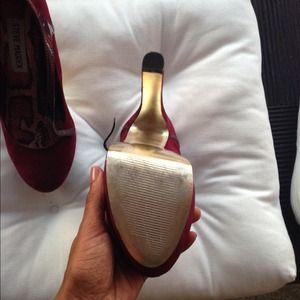 Steve Madden Shoes - ❌🚫Sold🚫❌Steven madden chunky heel Mary Janes
