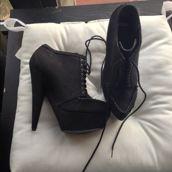 ASOS Shoes - Asos lace up ankle booties 👋make offer