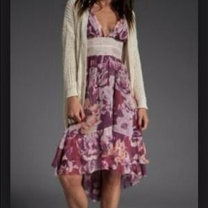 New Free People Floral Dress.