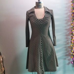 Vintage striped dress.