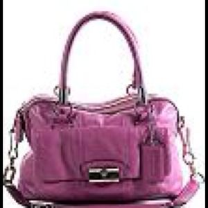 Coach Kristin Leather Satchel
