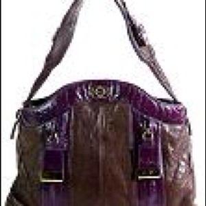 Bulga Zipper Shoulder Handbag