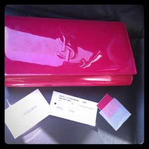 YSL authentic clutch