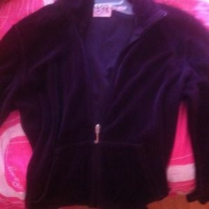 Juicy couture sweater (velour)
