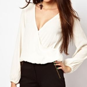 for love and lemons  Tops - For Love & Lemons plunging top