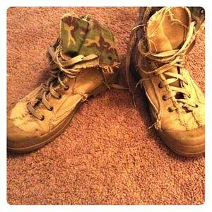 bakers combat boots on Poshmark