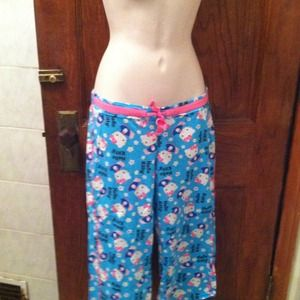 Hello Kitty Capri length pj pants