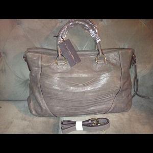 Handbags - MS by Martine SITBON Laser Cut Satchel!