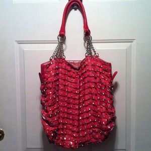 Bling pink purse