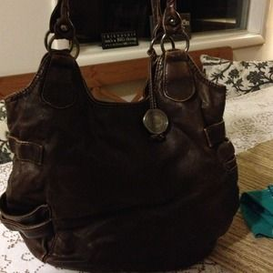 sparrow true Bags - HOLD Brown soft leather purse eb1d8a6585e43