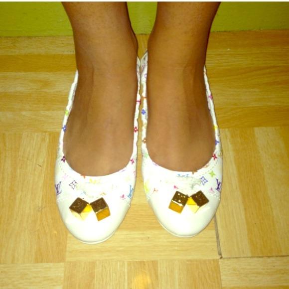 6d7583507f44 Louis Vuitton Shoes - Reserved - Louis Vuitton Lovely Ballerina Flats