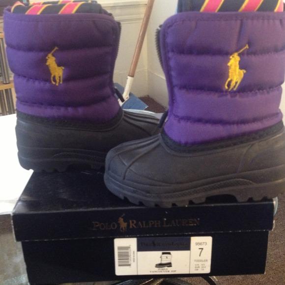 Size 7 Toddler Polo Boots   Poshmark