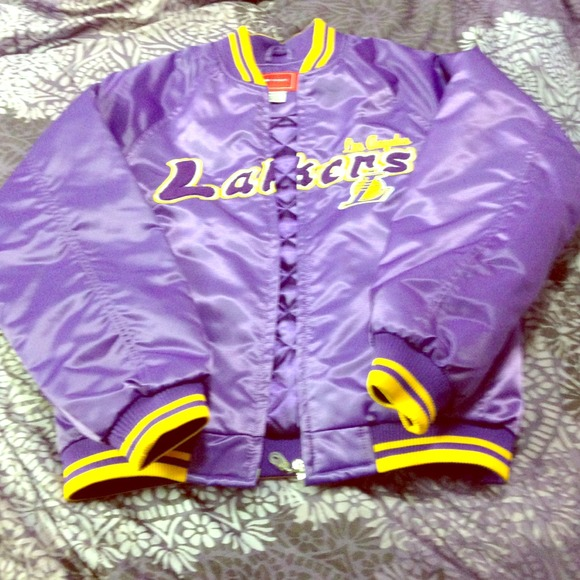 reebok lakers jacket