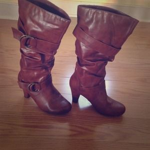 Brown madden girl boots