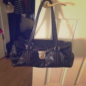 Authentic black prada handbag
