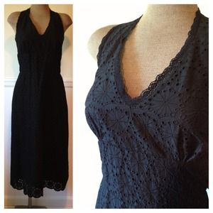 Banana Republic Dresses & Skirts - NEW Eyelet Banana Republic Backless Dress