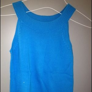 Tops - Cute blue top - Never worn! Size Small
