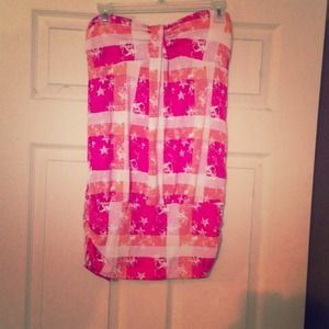 Tube top! Great for summer!