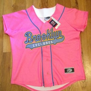 Brooklyn Cyclones Official Team Jersey