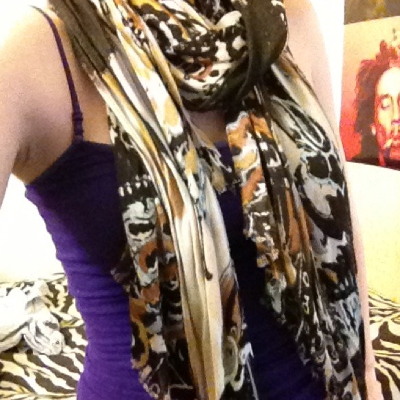 cynthia rowley lightweight scarf from s closet on