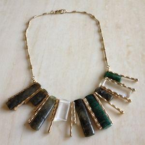 ✨bundled✨Gorgeous marble stone necklace