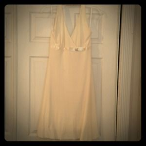 Dresses & Skirts - Beautiful Cream Cocktail Dress