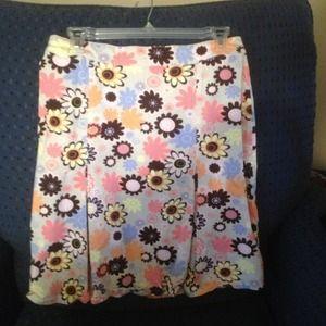Knee length Trumpet skirt