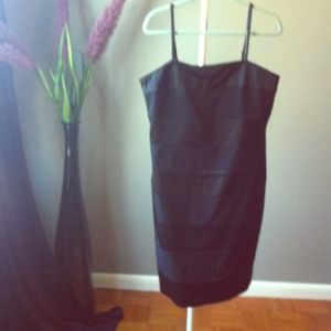 Reduced! New Classic Black strapless dress!