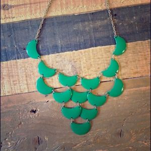 none Jewelry - Kelly green layered necklace