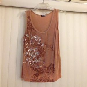 🅾⬇️Reduced ⬇️🅾-Camel color tank top
