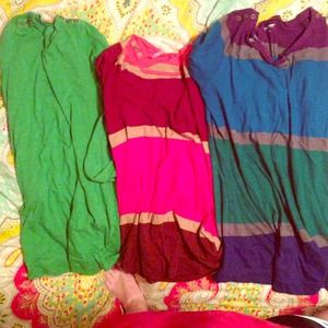 Tops - Three maternity shirts size M