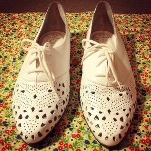vintage  Shoes - SALE-Vintage Oxfords