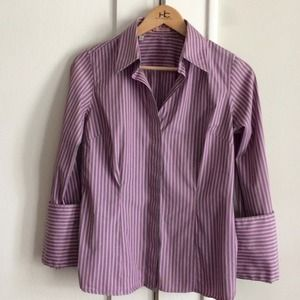 Thomas Pink Tops - 🇬🇧Thomas Pink fitted french cuff shirt