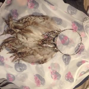 Jewelry - CUSTOM made beaded feather necklace