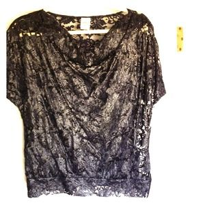 Express lace top sz XS new