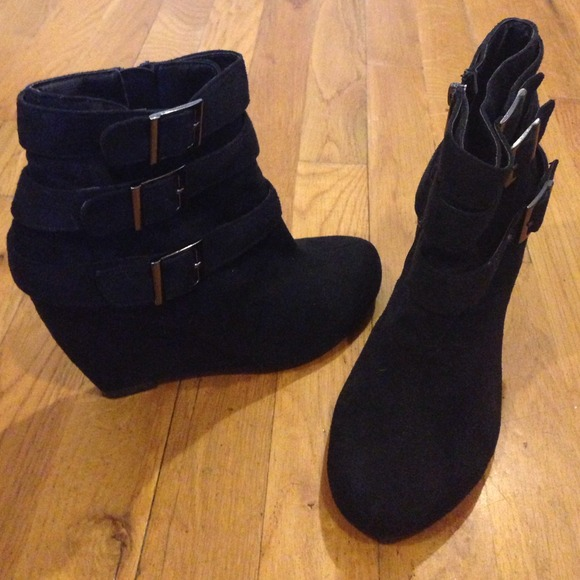Boots - Wedge ankle boots