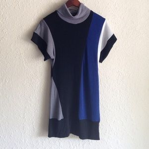 $5 or free with purchase Color block sweater dress