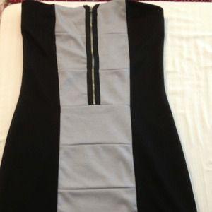 Lola Black and grey dress