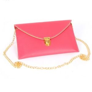 Envelope clutch with chain!