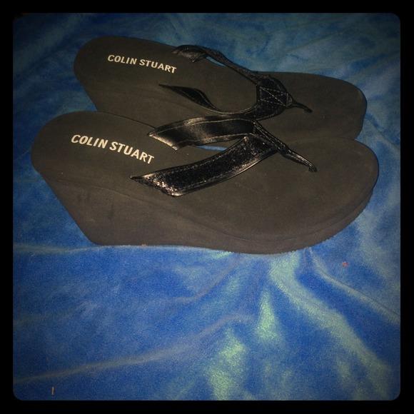50c8da469963a3 Victoria s Secret Shoes - Colin Stuart flip flop wedges