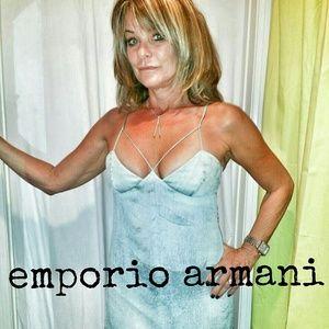 Vintage Emporio Armani Silk Dress